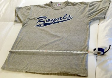 MLB Kansas City Royals T-Shirt Men's XL Gray