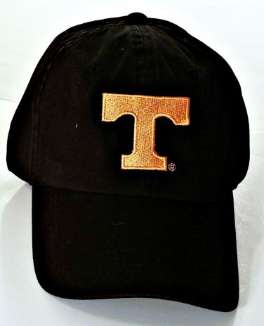 Brand New University of Tennessee Bill Cap, Black/Orange, Universal Fit Adult