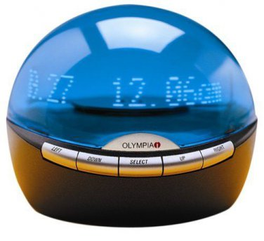 Olympia Infoglobe - Digital Caller ID, DST Clock & Message Display OL 3000.2