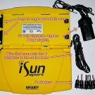 iSUN Sport Portable Solar Charger w/ 7 adapters for Cell Phones,Electronics More