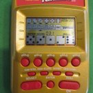 Yahtzee Game MB Handheld Electronic Travel Pocket Gold WORKS GREAT!