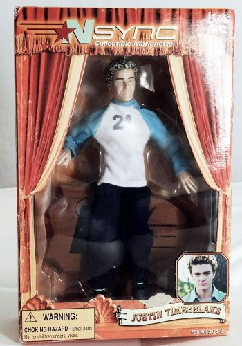 NEW NSYNC 2000 DOLL JUSTIN TIMBERLAKE COLLECTIBLE MARIONETTE