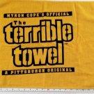 Myron Copes Original The Terrible Towel A Pittsburgh Original Steelers