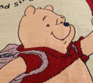 "Large Disney Blanket Winnie the Pooh Piglet Tigger 4'8"" x 4'5"" - Make an offer"