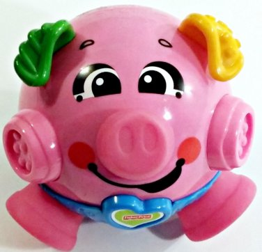 Cute Nervous Pig, Push Her Nose & She Plays a Song and Shakes. Make an offer