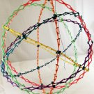 Large Original Hoberman Sphere Ball 9.5 - 30 inches Rainbow Colors Make an Offer