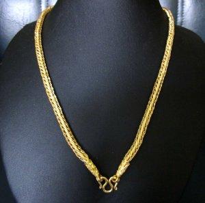"""24.8""""dedlicate nice 24K gold filled necklace 104"""