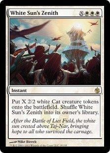 MTG: Mirrodin Besieged White Sun's Zenith