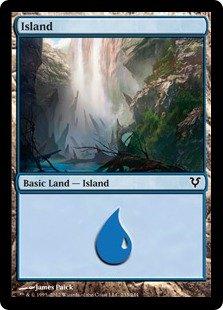 Foil Avacyn Restored Island #233
