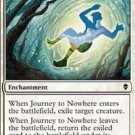 4x Zendikar Journey to Nowhere (playset)