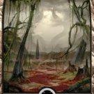Foil Hour of Devastation Full Art Swamp #187