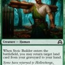 4 x Shadows over Innistrad Stoic Builder (playset) Not Mystery Booster