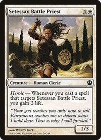 Foil Theros Setessan Battle Priest