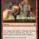 4 x Khans of Tarkir Arc Lightning (playset)