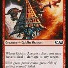 4 x Magic 2021 (M21) Goblin Arsonist (playset)
