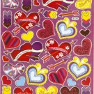 10 Big sheets Heart and Love Stickers Buy 2 lots Bonus 1 lot  #BL346