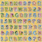 10 Big sheets Letter Alphabet Buy 2 lots Bonus 1 lot  #TM0097