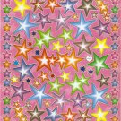 10 Big sheets Star Stickers Buy 2 lots Bonus 1 lot #SF C178