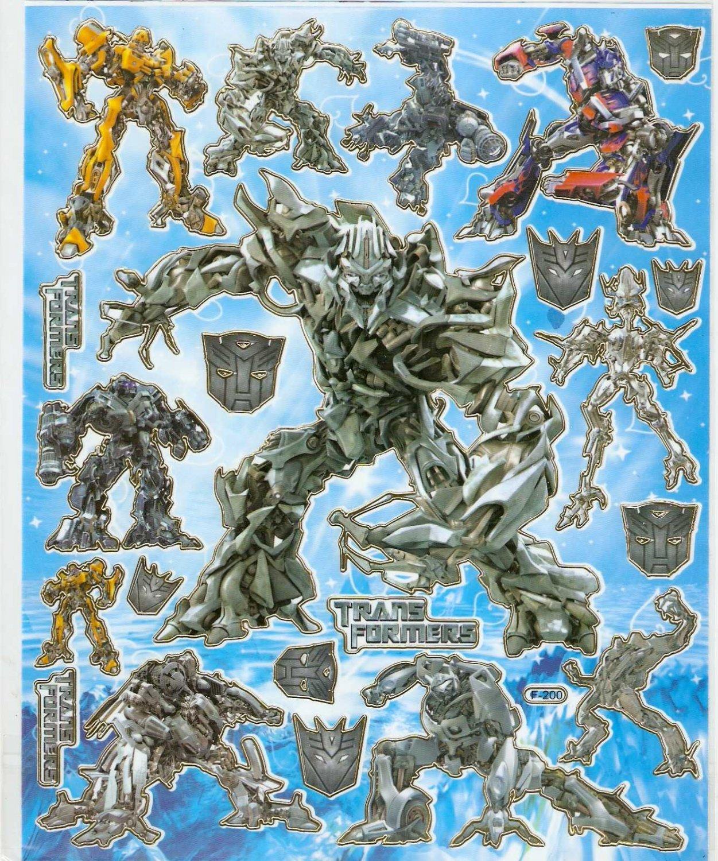 10 Big sheets Transformers Buy 2 lots Bonus 1 #F200