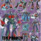 10 Big sheets Transformers Buy 2 lots Bonus 1 #PM00120