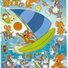 10 Big sheets Tom and Jerry Sticker Buy 2 lots Bonus 1 #BL589