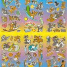 10 Big sheets Tom and Jerry Sticker Buy 2 lots Bonus 1 #B411