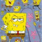 10 Big sheets Sponge Bob Sticker Buy 2 lots Bonus 1 #F047