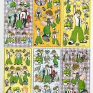 10 Big sheets Ben Sticker Buy 2 lots Bonus 1 #BEN B272