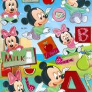10 Big sheets Baby Mickey Sticker Buy 2 lots Bonus 1 #bl271