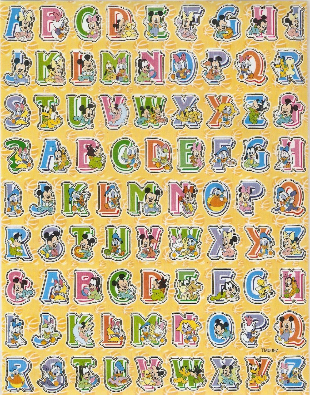 10 Big sheets Baby Mickey Sticker Buy 2 lots Bonus 1 #MKY TM0097