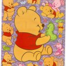 10 Big sheets Baby Pooh Sticker Buy 2 lots Bonus 1 #WP F008