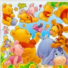 10 Big sheets Baby Pooh Sticker Buy 2 lots Bonus 1 #WP BL012