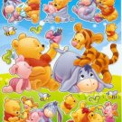 10 Big sheets Baby Pooh Sticker Buy 2 lots Bonus 1 #WP BL080