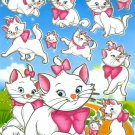 10 Big sheets Marie Cat Sticker Buy 2 lots Bonus 1  #MC BL068