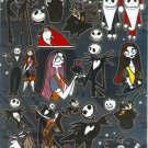 10 Big sheets Nightmare Before Christmas Sticker Buy 2 lots Bonus 1 #NBC EPSON006