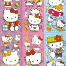 10 Big sheets Hello Kitty Sticker Buy 2 lots Bonus 1  #HK B179