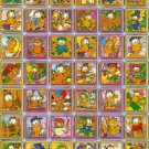 10 Big sheets Garfield Sticker Buy 2 lots Bonus 1 #C110