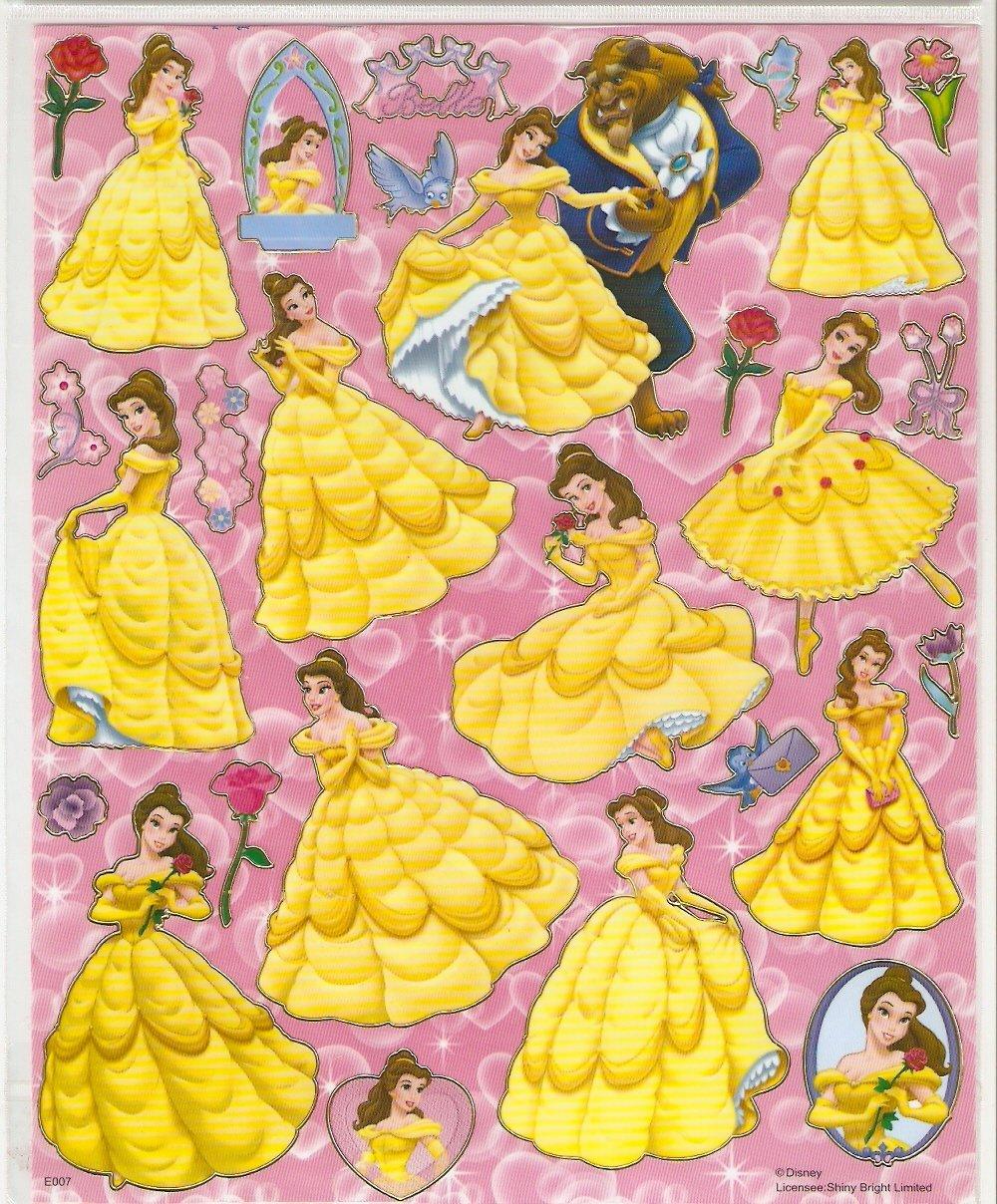 10 Big sheets Princess Sticker Buy 2 lots Bonus 1 #DP E007