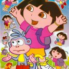 10 Big sheets Dora Sticker Buy 2 lots Bonus 1 #DOR BL141