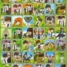 10 Big sheets Ben 10 Sticker Buy 2 lots Bonus 1 #BEN PM00358
