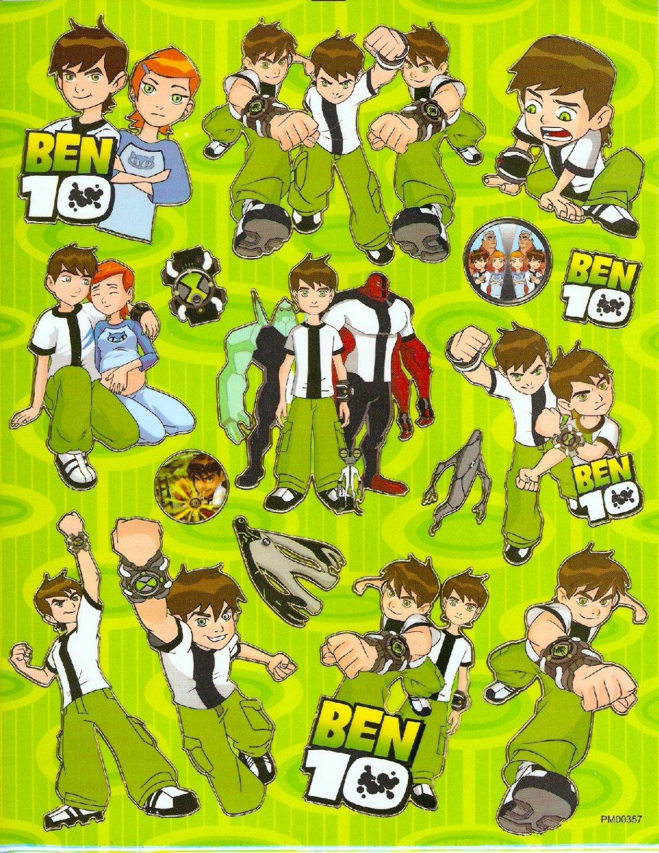 10 Big sheets Ben Sticker Buy 2 lots Bonus 1 #BEN PM00357