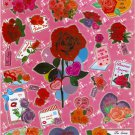 10 Big sh1eets Flowers Roses Stickers Buy 2 lots Bonus 1 lot  #Sp0006