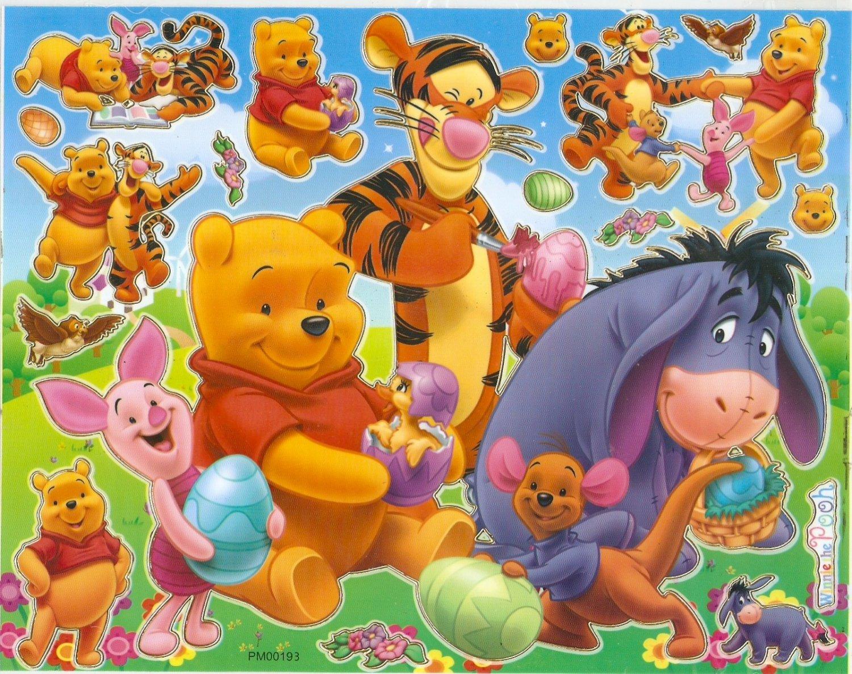 10 Big sheets Winnie Pooh Buy 2 lots Bonus 1  #PM00193
