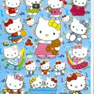10 Big sheets Hello Kitty Sticker Buy 2 lots Bonus 1  #HK C070