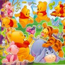 #BL096 BABY POOH PVC Removable Sticker