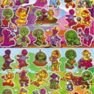 #B070 BARNEY PVC Removable Sticker