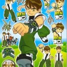 #BL184 BEN 10 PVC Removable Sticker