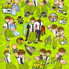 #PM00357 BEN 10 PVC Removable Sticker