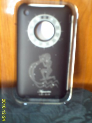 FREE SHIPPING Iphone 3g/3gs BLACK HARD case SHELL + FREE SCREEN PROTECTOR +FREE CLEANING CLOTH