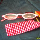 New Fun PINK Fashionable Reading Glasses W Pouch eyeglassess +1.00